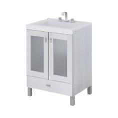 Vanitory Terra vetro 60cm Blanco – Schneider