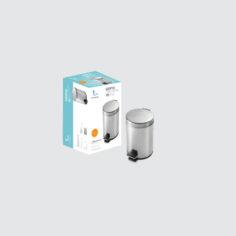 Cesto con pedal de 3 litros – Pringles