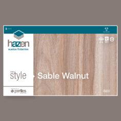 Piso Flotante Sable Walnut x Caja (2.31 m2) – Hazen