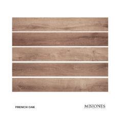 Piso Flotante Vinilico French Oak x Caja (2.22 m2) – Misiones