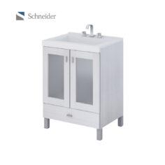 Vanitory Terra Vetro 50cm Blanco (V50TV) – Schneider